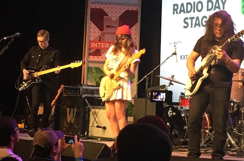 Best Coast at the SXSW Convention Center, March 20, 2015. The band plays tonight at The Waiting Room.