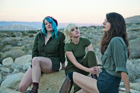 Bleached open for Beach Slang this Sunday, Oct. 30, at The Waiting Room.