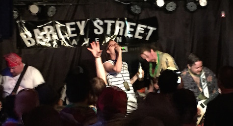 Bloodcow at The Barley Street Tavern, July 18, 2015.
