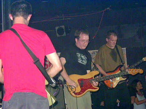 Some #TBT goodness on a very sweaty Thursday, this previously unpublished photo of Cursive was taken June 3, 2000 (which just happens to have been my 35th birthday). The venue is, of course, Sokol Underground. It was quite a show...