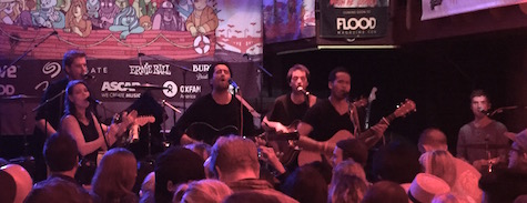 Dotan at Cedar Street Courtyard, March 18, 2015.