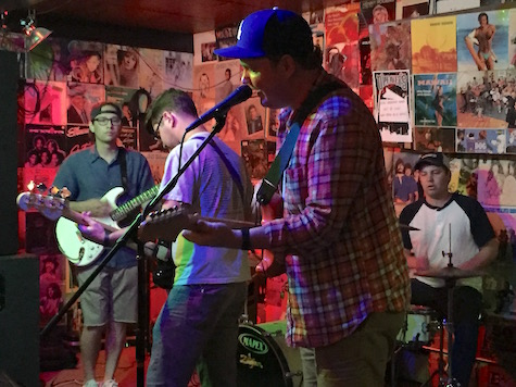 Eric in Outerspace at O'Leaver's, Aug. 31, 2016. The band plays O'Leaver's Sunday Social this weekend.