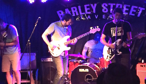 Gramps at Barley Street Tavern, July 11, 2015. The band celebrates its EP release tonight at O'Leaver's.