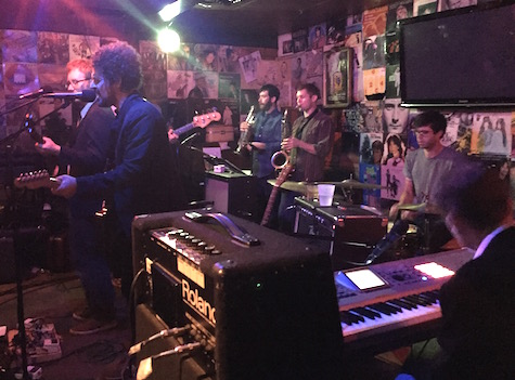Head of Femur at O'Leaver's, Oct. 4, 2015. The band plays tonight at The Waiting Room.