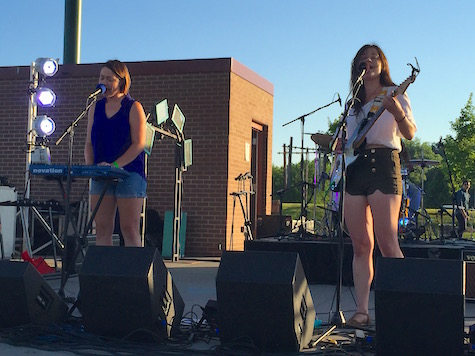 The Hottman Sisters at Aksarben Village, June 18, 2016.