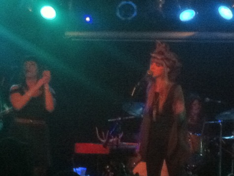 The Mynabirds at The Waiting Room, March 23, 2012.