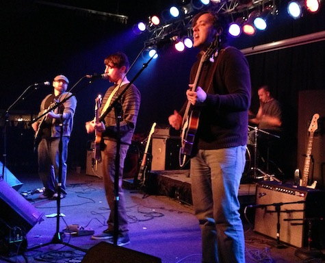 The Brigadiers at The Waiting Room, Dec. 27, 2012.
