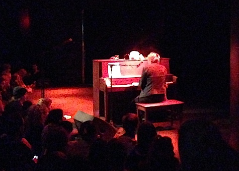 Cat Power at the piano, The Slowdown, Nov. 22, 2013.
