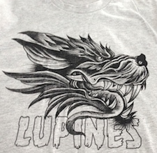 Lupines' new T-shirt design.