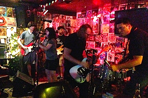 The Everymen at O'Leaver's, July 6, 2014.