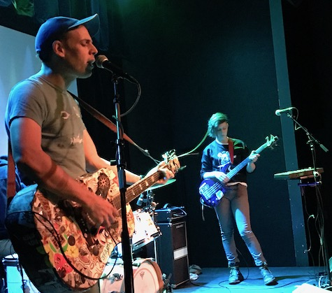 Jeffrey Lewis and Los Bolts at Reverb Lounge, Nov. 15, 2016.