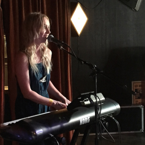Laura Burhenn (Mynabirds) at Stay Gold, March 19, 2015.
