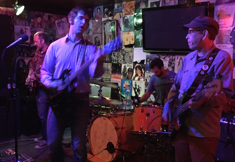 The Lupines at O'Leaver's, Sept. 19, 2015. The band returns to O'Leaver's tonight.