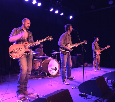 The Lupines at The Waiting Room, Oct. 7, 2015.
