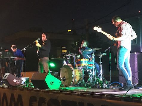 Oquoa at Farnam Festival, Sept. 12, 2015. The band celebrates a cassette release Saturday night at O'Leaver's.