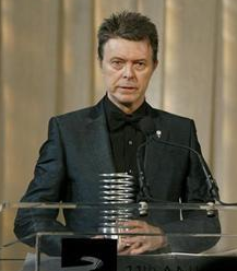 Bowie in 2007.