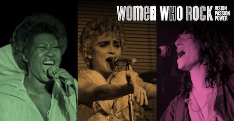The Women Who Rock exhibition is at the Durham Museum through May 5.