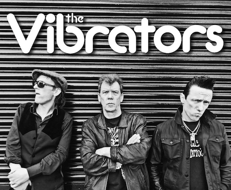 The Vibrators play at The Brothers Lounge tonight.