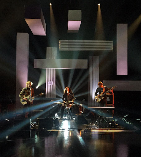 Low, filmed last week on Later with Jools Holland.