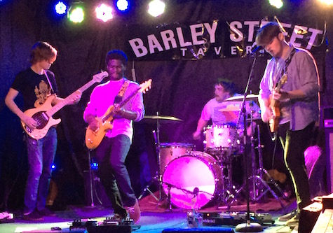 Super Ghost at the Barley Street Tavern April 18, 2015.