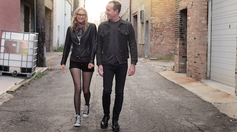 The Both = Aimee Mann + Ted Leo. They're playing at Saturday's Maha Music Festival.