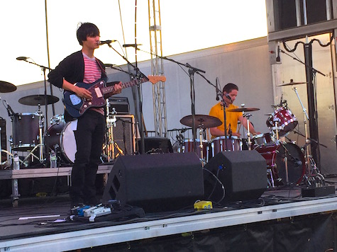The Dodos at Mini-Maha at River's Edge Park, May 30, 2015.