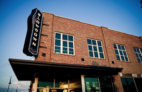 The Slowdown's booking will now be partially handled by Knitting Factory Entertainment.