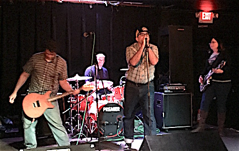 Wagon Blasters at Lookout Lounge April 30, 2016.