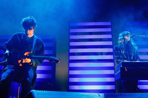 Beach House plays tonight at The Slowdown. The show is sold out.