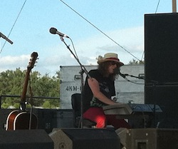 Ben Kweller at the MAHA Music Festival, July 24, 2010.