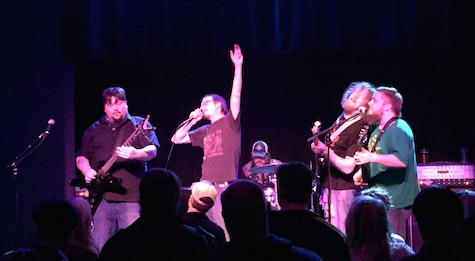 Bloodcow at Reverb Lounge, March 7, 2015. The band celebrates the release of Crystals & Lasers at three separate shows Saturday night.