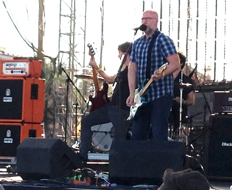 Bob Mould at The Maha Music Festival, Aug. 17, 2013.