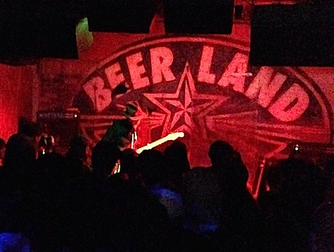 The legendary Bob Wallers inside Beerland.