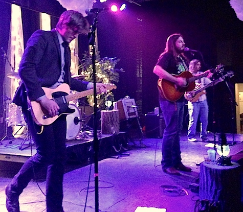 Brad Hoshaw and the Seven Deadlines at The Waiting Room, Feb. 21, 2014.