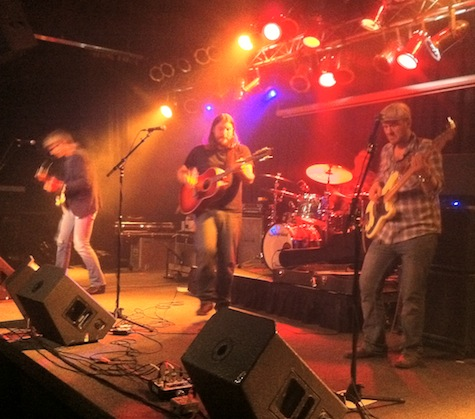 Brad Hoshaw and the Seven Deadlies at The Waiting Room, Nov. 12, 2011.
