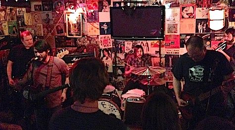 Cursive at O'Leaver's, Dec. 20, 2013.