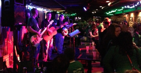 Dicey Riley Band at The Dubliner, March 17, 2013.