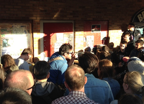 Destruction Unit goes wild on the Beerland patio.
