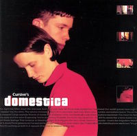 Cursive, Domestica (2000, Saddle Creek Records)