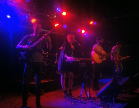 Eli Mardock and his band at The Waiting Room, July 5, 2012.