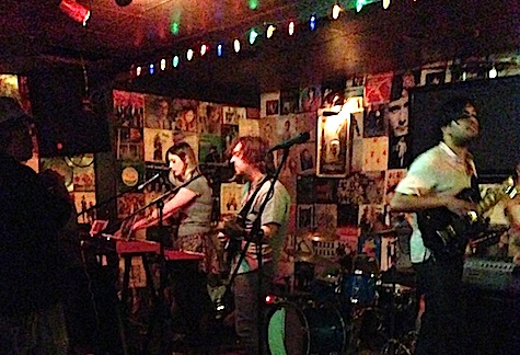 Eli Mardock and his band at O'Leaver's, July 19, 2013.