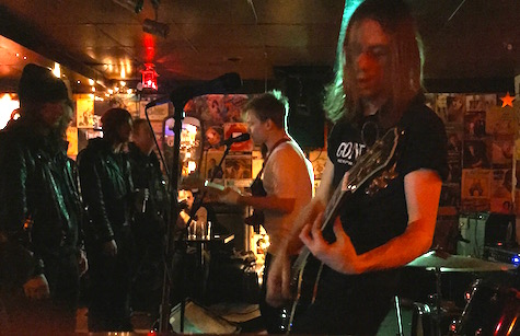 Fire Retarded at O'Leaver's Feb. 21, 2015.