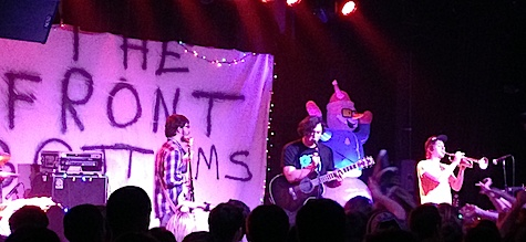The Front Bottoms at The Waiting Room, Jan. 12, 2014.