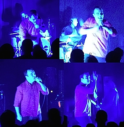 The many faces of Samuel T. Herring of Future Islands, The Waiting Room, Aug. 28, 2014.