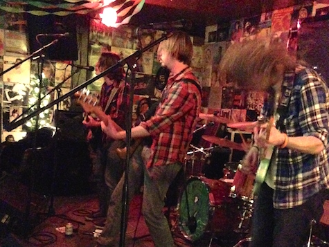 The Gardenheads at O'Leaver's, March 22, 2014.