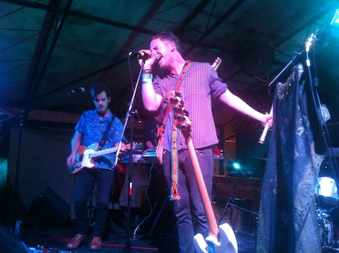 Gardens &amp; Villa at Mohawk Patio, SXSW, March 15, 2012.