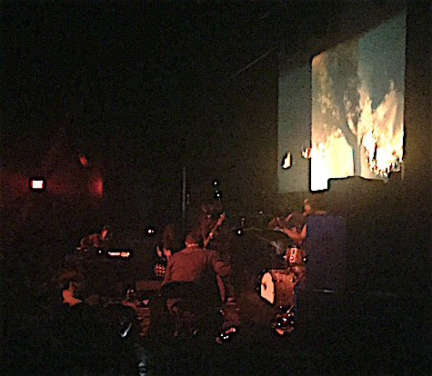 Godspeed You! Black Emperor at The Slowdown Feb. 10, 2016.