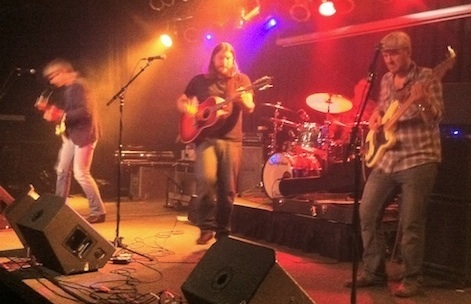 Brad Hoshaw and the Seven Deadlies at The Waiting Room way back on Nov. 12, 2011.