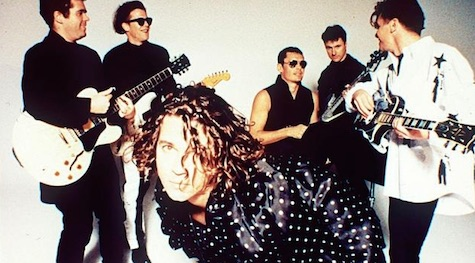 Michael Hutchence during the glory days of INXS circa 1994.