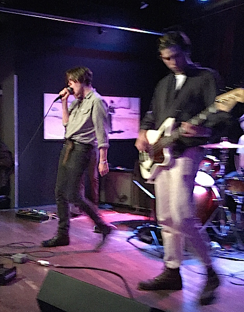 Iceage at Slowdown Jr., Oct. 24, 2014.